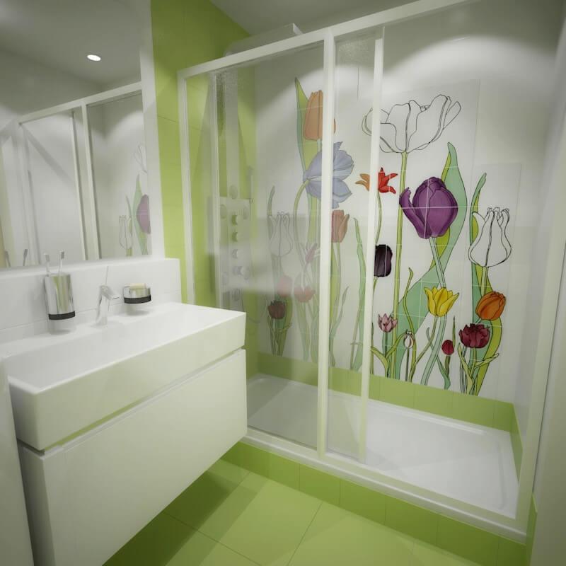 дизайн интерьеров Тюмень ЛевшаГрупп Домик принцессы ванная санузел