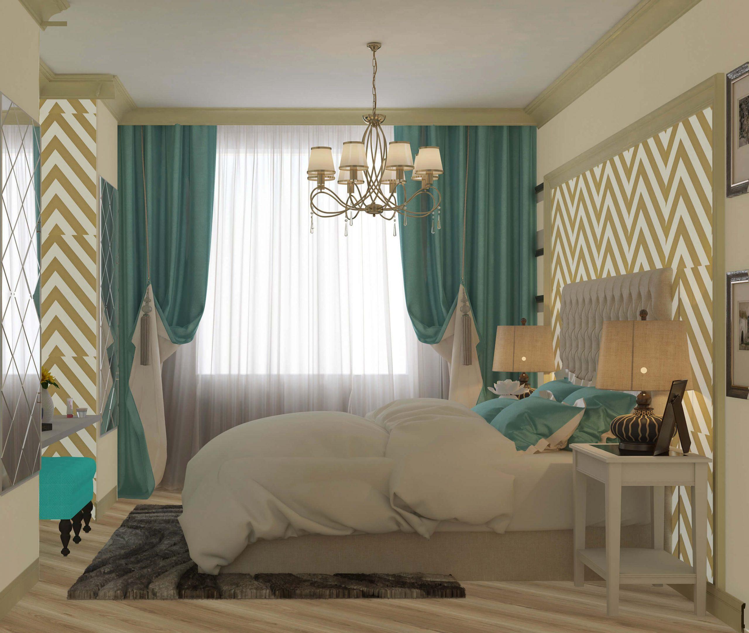 дизайн интерьеров Тюмень ЛевшаГрупп Классические мотивы спальня