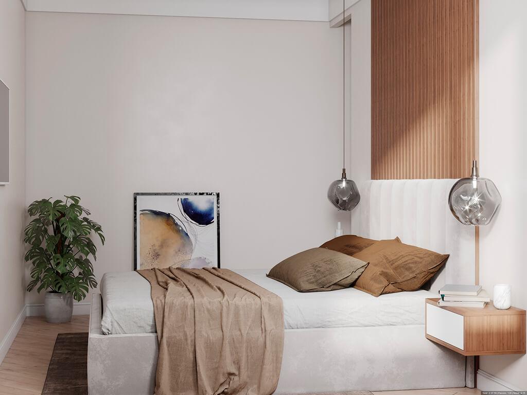 дизайн интерьеров Тюмень ЛевшаГрупп спальня