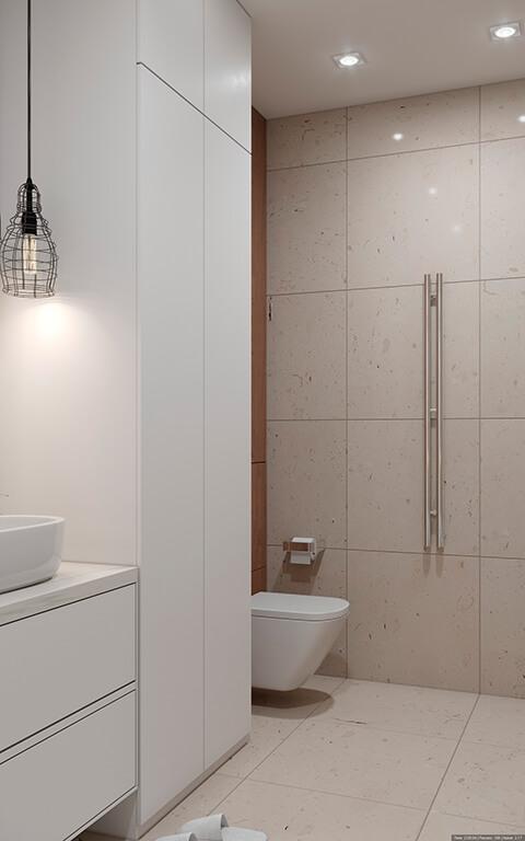 дизайн интерьеров Тюмень ЛевшаГрупп ванная