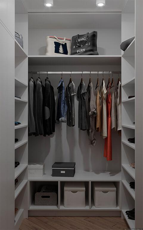 дизайн интерьеров Тюмень ЛевшаГрупп шкаф для одежды