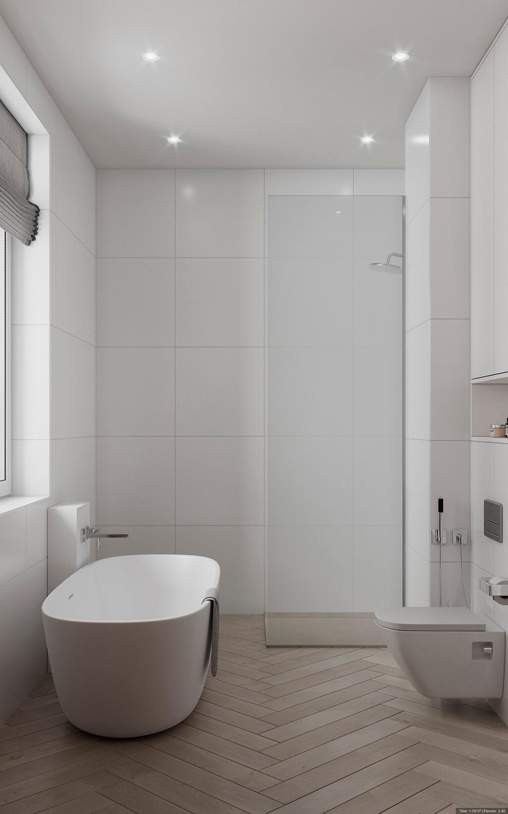 дизайн интерьеров Тюмень ЛевшаГрупп ванная санузел